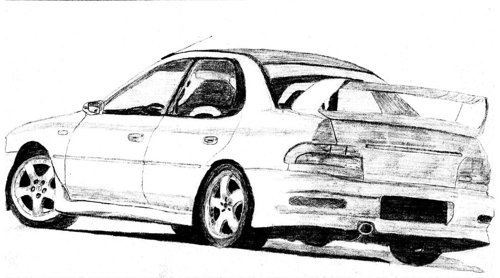 Coloriages à imprimer : Subaru, numéro : 105327
