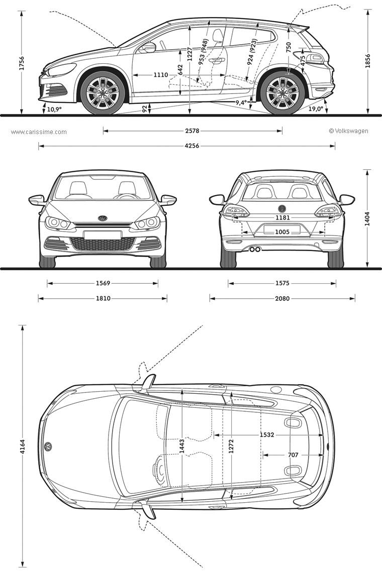 Coloriages à imprimer : Volkswagen, numéro : 105417