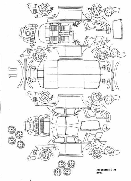 coloriages  u00e0 imprimer   volkswagen  num u00e9ro   571002