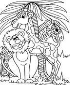 Imprimer le coloriage : Animaux, numéro 96307570
