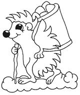 Imprimer le coloriage : Animaux carnivores, numéro 23902