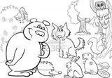 Imprimer le coloriage : Animaux carnivores, numéro 64670