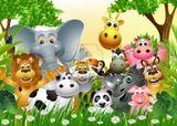 Imprimer le dessin en couleurs : Animaux carnivores, numéro 74081