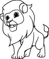Imprimer le coloriage : Animaux carnivores, numéro 8477f802