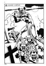 Imprimer le coloriage : Hyène, numéro 25783