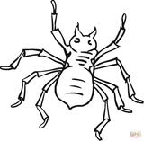 Imprimer le coloriage : Arachnides, numéro 2ffa44c5