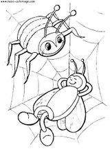 Imprimer le coloriage : Arachnides, numéro 56131