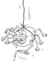 Imprimer le coloriage : Arachnides, numéro 56146