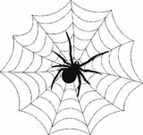 Imprimer le coloriage : Araignée, numéro 25709