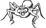 Imprimer le coloriage : Araignée, numéro 25725