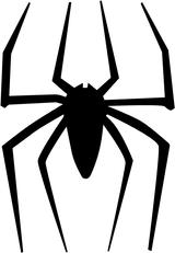 Imprimer le coloriage : Araignée, numéro 571418
