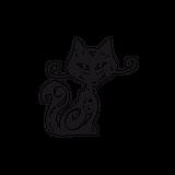 Imprimer le coloriage : Chat, numéro 359222