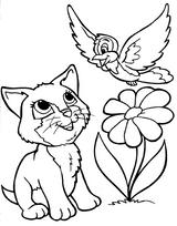 Imprimer le coloriage : Chat, numéro 69607548
