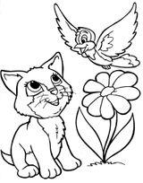 Imprimer le coloriage : Chat, numéro 7062abf6