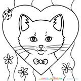 Imprimer le coloriage : Chat, numéro 79646373