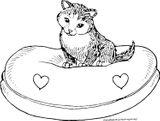 Imprimer le coloriage : Chat, numéro 9eecd894