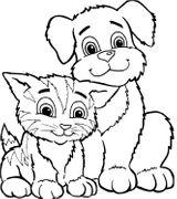 Imprimer le coloriage : Chat, numéro db9859c6