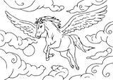 Imprimer le coloriage : Cheval, numéro 16384ecb