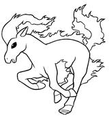 Imprimer le coloriage : Cheval, numéro 3438