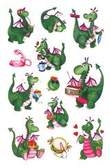 Imprimer le dessin en couleurs : Dinosaures, numéro 208760