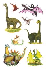 Imprimer le dessin en couleurs : Dinosaures, numéro 208795