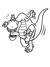 Imprimer le coloriage : Dinosaures, numéro 209556