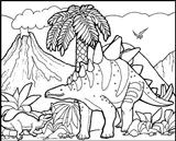 Imprimer le coloriage : Dinosaures, numéro 209567