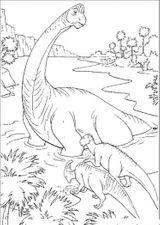 Imprimer le coloriage : Dinosaures, numéro 233898