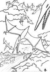 Imprimer le coloriage : Dinosaures, numéro 237479