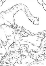 Imprimer le coloriage : Dinosaures, numéro 259979