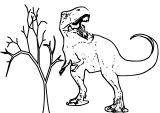 Imprimer le coloriage : Dinosaures, numéro 2ae98238