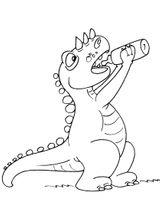 Imprimer le coloriage : Dinosaures, numéro 307978