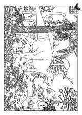Imprimer le coloriage : Dinosaures, numéro 372945