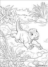 Imprimer le coloriage : Dinosaures, numéro 459718