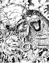 Imprimer le coloriage : Dinosaures, numéro 517402