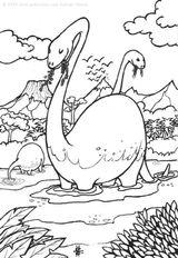 Imprimer le coloriage : Dinosaures, numéro 5c547176