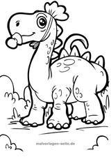 Imprimer le coloriage : Dinosaures, numéro 64cbb2c7