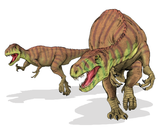 Imprimer le dessin en couleurs : Dinosaures, numéro 670596