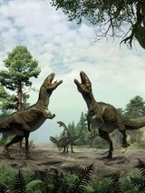 Imprimer le dessin en couleurs : Dinosaures, numéro 697fa975