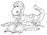 Imprimer le coloriage : Dinosaures, numéro 7c23ba91