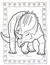 Imprimer le coloriage : Dinosaures, numéro 88c83191