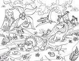 Imprimer le coloriage : Dinosaures, numéro 8fb83478