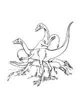 Imprimer le coloriage : Ankylosaure, numéro 220259
