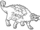 Imprimer le coloriage : Ankylosaure, numéro 224982