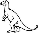 Imprimer le coloriage : Ankylosaure, numéro 753917