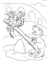 Imprimer le coloriage : Ankylosaure, numéro 7f7b3820