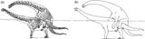 Imprimer le coloriage : Brachiosaure, numéro 220274