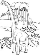Imprimer le coloriage : Brachiosaure, numéro 220275