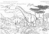 Imprimer le coloriage : Brachiosaure, numéro 220289