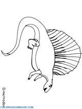 Imprimer le coloriage : Brachiosaure, numéro 24028